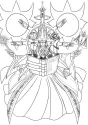 Universal God    uncoloured by ARSONicARTZ