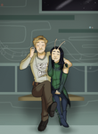 Pete and his sis, The Bug by CamSpooks
