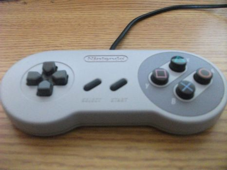 My SNES controller MOD by lunitaproductions