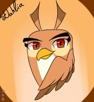 Dahlia  (Angry birds Stella) by Pig3oink