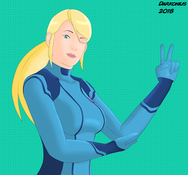 Samus Aran by Darkonius64