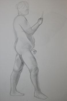 Figure study 2 by Evinfowler