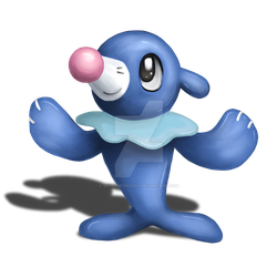 Popplio by SilverBronzong