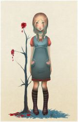 + Lonely Rose + by korone