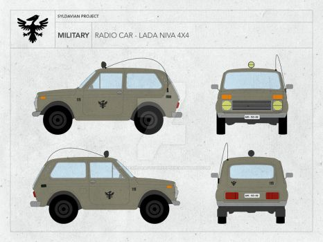 Lada Niva - Military by droneaircraftconcept