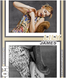 // PHOTOPACK 2125 - LILY JAMES // by censurephotopacks