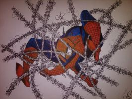 Bad Web Day Inked and Colored by DamCee