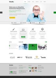 Wealth PSD template by tendosk8er