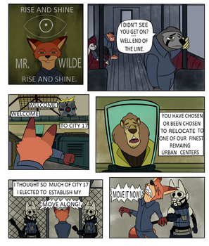 Welcome to City 17 Page 1 by TheDarkShadow1990