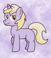And then Dinky is a colt. by GoggleSparks