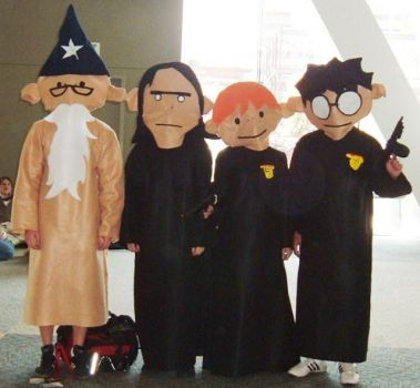 The Potter Puppet Pals by TheDeluxeWar