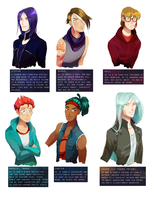 Almost Magical: Other Male OCs by chocolatesmoothie