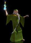 TFOD - Carolinus, The Green Wizard WIP1 by paulrich