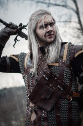 The Witcher - Geralt of Rivia by GreatQueenLina