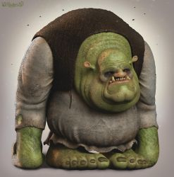 Shrek by 90swil
