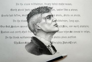 Tommy Shelby - Peaky Blinders by MsLydix