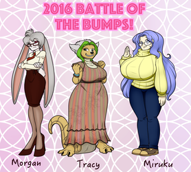 Battle of the Bumps 2016: Start by RiddleAugust