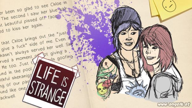 Life is Strange Desktop Wallpaper 1920x1080 by slicedguitars