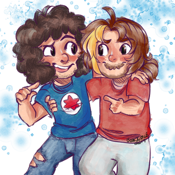 and we're the game grumps by BookJustice