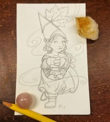 Sunday Gnomedays 8-5-18 by rachelillustrates