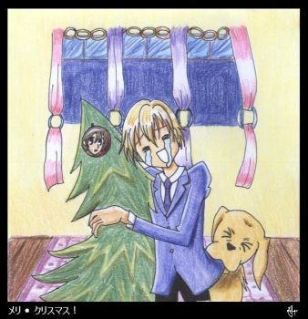 Christmas - Tamaki is happy by unexpected-destiny