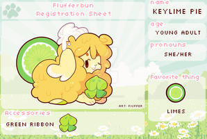 Key Lime Pie Registration Sheet by Rockzillahh