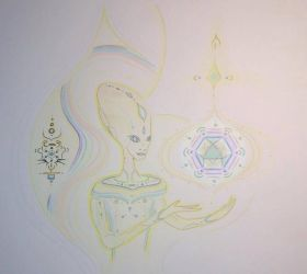 Ambassidor Ehani - Extraterrestrial Being by ARCTURUSANT