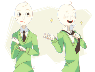 even MORE baldi by Yatsunote