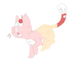 IceCream Kitty by DragonWolfGirl2