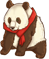 Panda Bear by Quizity