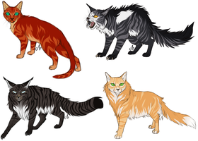 Warrior Cats by CorruptedFox