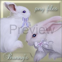 Bunny's by mmebuterfly