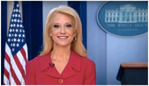 Kellyanne Conway is the Darkness by JMK-Prime