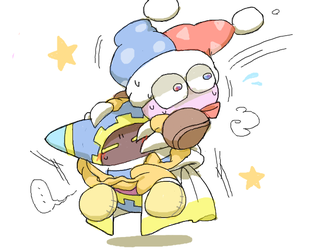 Marx and Magolor by odWINbo