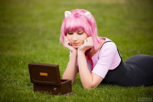 Elfenlied - Lucy:Nyu Cosplay by theDevil-photography