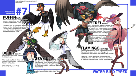Monster Musume+: Water Bird Species by Dragonith