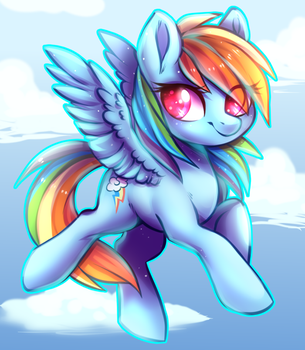 Some o dat Rainbow D by Naughty-Savage