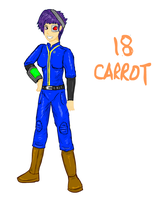 18 Carrot humanized by glue123