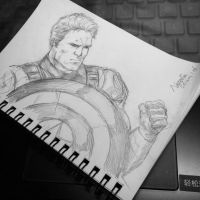 Captain America by nataliec567
