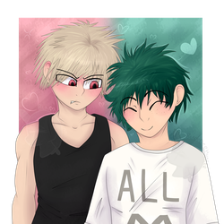 BakuDeku by BladeDeeHunter