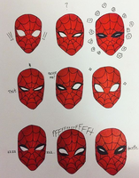 spidey expressions by baetakids