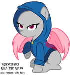 MLP Base: Hoodie pony by KIngBases