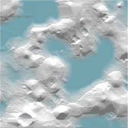 Water / Terrain Simulation with erosion by RC-1290