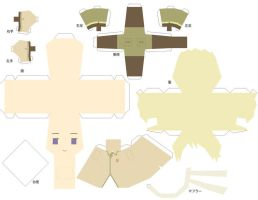 Russia paper doll by tamago-donmai
