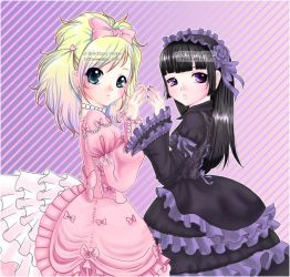 .:Sweet and Gothic Lolita:. by PhantomCarnival