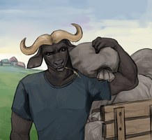 Bull by Sipr0na