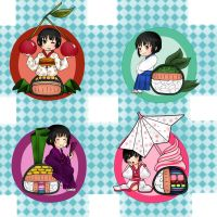 APH: Japan sushi by Lazy-Pineapple