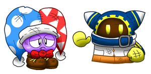 ISG!Marx and ISG!Magolor by XMarx-MagolorXISG
