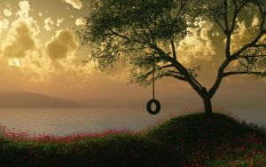 Sunset Swing by AfterDeath