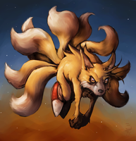 Nine Tails Prower by StewartMortimer